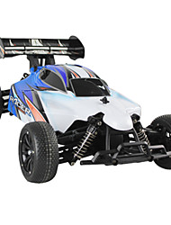2.4G 1/10 4WD Off-road Desert Buggy RC Simulation Car 1136A - Red Blue