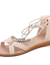 Beach shoes flat sandals Roman sandals female Xia Xuesheng joker