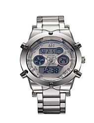 Fashion Watch Digital Watch Quartz Digital Alloy Band Casual Silver