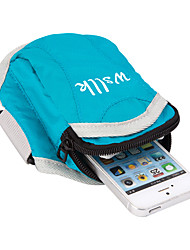 Sports Bag Armband Waterproof Rain-Proof Waterproof Zipper Dust Proof Running BagCamping & Hiking Climbing Racing Leisure Sports Jogging