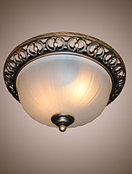 Simple Circular Ceiling Lamps Bronze Entrance Corridors Color Decoration Lamp