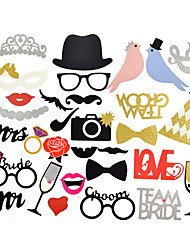 Photo Booth Props For New Fashion Wedding and Valentine's Day Party Wedding Decorations-31Piece/Set