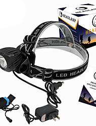 U'King® ZQ-X832B-EU Waterproof 2000LM CREE XML-T6 LED 3 Modes Headlamp Bike Light Kit USB Rechargeable