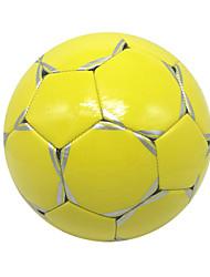 Football(Jaune Blanc,PVC)Haute élasticité Durable