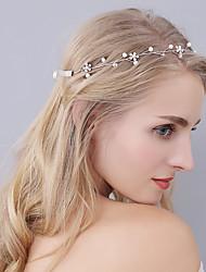 Handmade Headpiece Rhinestone Lovely Flowers-Wedding Special Occasion Headbands 1 Piece New