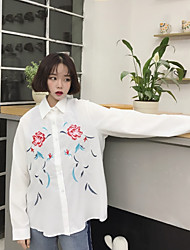 знак дикие цветы вышитые белой рубашке