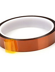 Gold Finger Tape 0.06 Thick Brown High Temperature Tape 18Mm * 33M