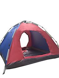 5-8 personnes Tente Unique Tentes Familiales Une pièce Tente de camping 1500-2000 mm Polyester Etanche Respirabilité Résistant au vent-