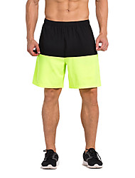 Vansydical® Men's Running Bottoms Quick Dry Spring Summer Exercise & Fitness Terylene Loose Outdoor clothing Black Classic