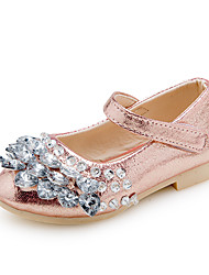Girl's Sandals Spring Summer Other PU Wedding Party & Evening Dress Flat Heel Sparkling Glitter Others Pink Silver Gold