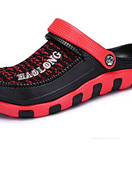 Men's Sandals Spring Summer Other Hole Shoes Couple Shoes PU Casual Others Black Blue Red Other