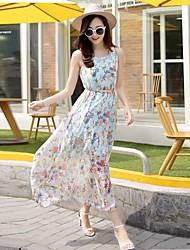 signe ceinture d'été en mousseline de soie grands chantiers imprimés longue section de robe de plage mis sur une large ceinture vendue