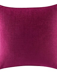 1 pcs Solid Decorative  Casual Chenille Pillow Cover 18*18 Inch