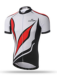 XINTOWN® Men's Short Sleeve Bike Breathable Quick Dry Short Sleeve Cycling Wear With Summer Breathable Sublimation Printing for Men