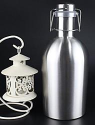 Minimalismo Artigos para Bebida, 1700 ml Grande Capacidade Aço Inoxidável Cerveja Garrafas de Água