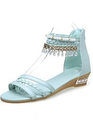 женские сандалии весна лето другой пу платье