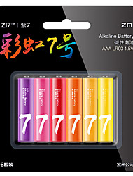ZMI ZI7 AAA Alkaline Battery 6 Pack 1.5V