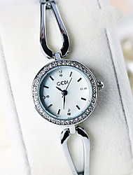 Women's Fashion Watch Quartz Water Resistant / Water Proof Alloy Band Bohemian Cool Casual Silver Brand