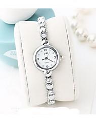 Women's Fashion Watch Rhinestone Quartz Alloy Band Casual Cool Silver