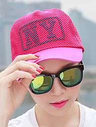 Unisex Mesh Spring Baseball Cap Casual Outdoor Mountaineering Letter Print Couple Cap