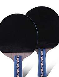 5 Звезд Настольный теннис Ракетки Ping Pang Резина Короткая рукоятка Прыщи В помещении Выступление Активный отдых