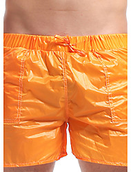 OUTTO® Men's Swimwear Breathable Swimwear Bottoms Orange Orange M L XL XXL