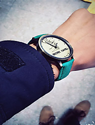 Fashion Watch Quartz Leather Band Charm Word Watch Casual Black Blue Red Green Yellow White Yellow Red Green Blue