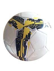 Football(Jaune Blanc,Polyuréthane)Haute élasticité Durable