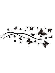Wall Stickers Wall Decals Style Creative Butterfly PVC Wall Stickers