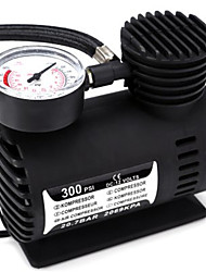 DC 12V 300 PSI Electric Pump Air Compressor Tyre Inflator for Car Motorcycle