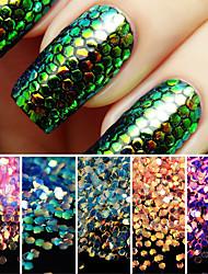 1set Manucure Dé oration strass Perles Maquillage cosmétique Nail Art Design