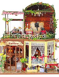 handmade artesanato diy cabine grande rui ya tempo com um capuz