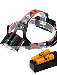 U'King Headlamps LED 6000 Lumens 4 Mode Cree XM-L T6 Yes Mini Easy Carrying for Camping/Hiking/Caving Everyday Use Cycling/Bike Hunting
