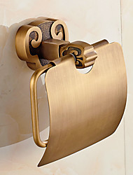 Horn Style Solid Brass Bathroom Shelf Bathroom Toilet Paper Holders Bathroom Accessories