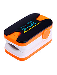 Digital Fingertip Pulse Oximeter OLED Display Heart Rate Monitor Blue  and Orange