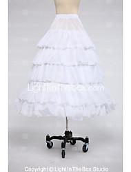 Slips Ball Gown Slip Tea-Length 5 Taffeta White Black Red