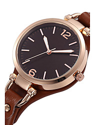 Women's Kids' Dress Watch Fashion Watch Wrist watch Water Resistant / Water Proof Punk Quartz Genuine Leather BandVintage Charm Cool