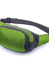 Bolsa de cinto Bolsa Transversal para Alpinismo Esportes Relaxantes Ciclismo/Moto Acampar e Caminhar Fitness Corrida Bolsas para Esporte