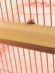 Bird Toys Wood Beige