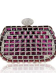 L.WEST Women's fashion cute costly diamond bag diamond bag party bag