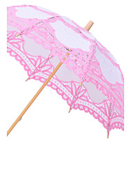 Colorful Lace Parasol Umbrella Wedding Bridal Photo Decoration (More Colors)