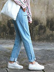 Model real shot 2017 new retro casual harem pants