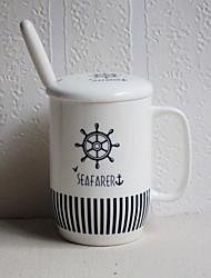 Desenho Artigos para Bebida, 400 ml Decoração Cerâmica Café Leite Xícaras de Chá
