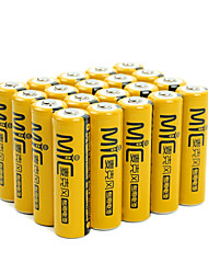NANFU NF-MB1 AA Nickel Metal Hydrde Battery 1.2V 2050mAh 20 Pack