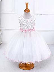 Girl's Print Dress,Polyester Summer Sleeveless