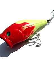 1 pcs Poissons nageur/Leurre dur Jaune Rouge 10 g Once mm pouce,Plastique Pêche générale