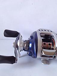 Moulinet pour pêche Moulinet pêche à la traîne 6.3:1 3 Roulements à billes Droitier Pêche en mer-YZ2000