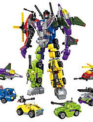 Toys For Gift  Building Blocks Model & Building Toy Warrior Robot Plastic 5 to 7 Years 8 to 13 Years 14 Years & Up Rainbow Toys