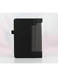 caso de couro original lichi 8 polegadas para yoga Tab3 850F tb3-850f / m com cove estande