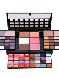 Lidschattenpalette Trocken Lidschatten-Palette Puder NormalSmokey Makeup Alltag Make-up Halloween Make-up Party Make-up Feen Makeup